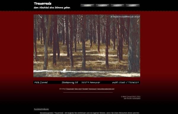 Vorschau von www.trauerredner-hannover.de, Meik Conrad