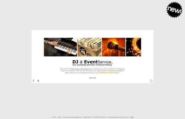 Vorschau von www.dj-eventservice.com, DJ & Event Service
