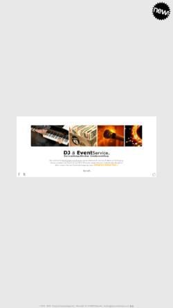 Vorschau der mobilen Webseite www.dj-eventservice.com, DJ & Event Service