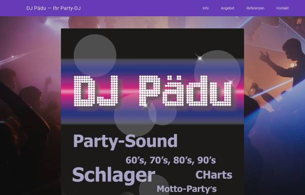 Vorschau von dj-paedu.ch, DJ Pädu