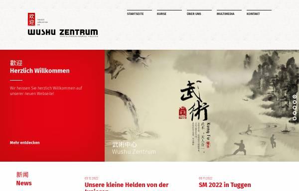 Vorschau von www.wushu-zentrum.ch, Wushu Zentrum Bern