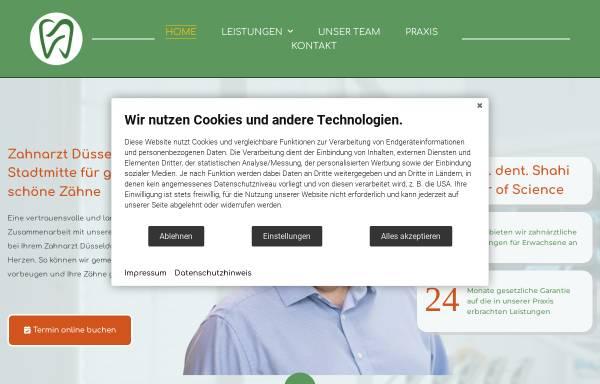 Vorschau von zahnarzt-duesseldorf-shahi.de, Zahnarzt Düsseldorf - Dr. Shahi, unique dent