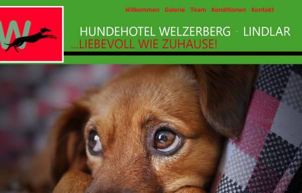 Vorschau von www.hundehotel-welzerberg.de, Hundehotel Welzerberg