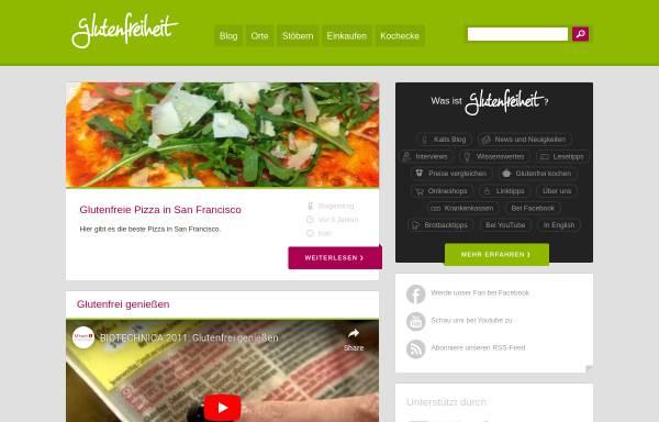 Vorschau von glutenfreiheit.org, Glutenfreiheit