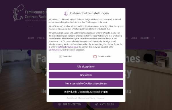 Vorschau von www.hausarzt-gruenau.de, Allgemeinmedizinische Praxis Radowsky