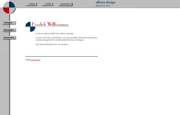 Vorschau von www.allessa-design.de, Rudolf Bartels Alessa Design