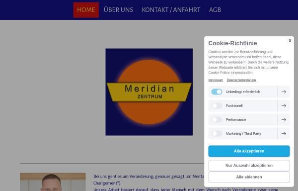 Vorschau von www.meridian-zentrum.de, Meridian-Zentrum