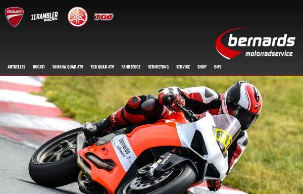 Vorschau von www.bernards-motorrad-service.de, Bernards Motorrad Service