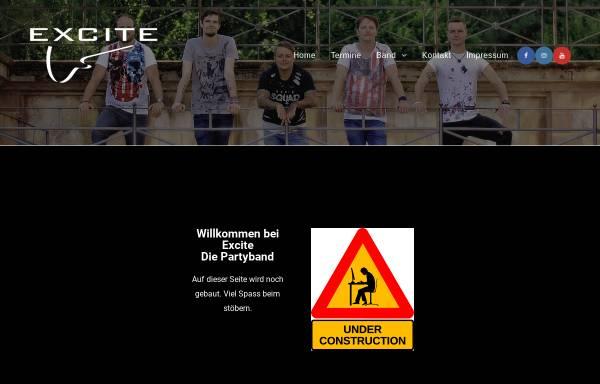 Vorschau von www.excite-band.de, Excite