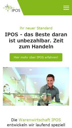 Vorschau der mobilen Webseite www.ebg-data.de, EBG - Data GmbH