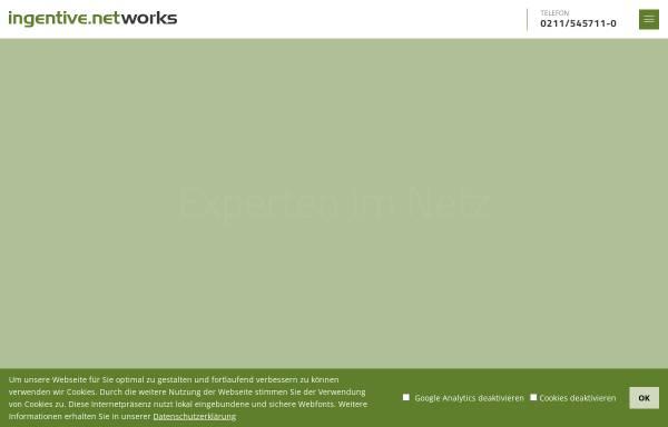 Vorschau von www.ingentive.net, Ingentive Networks GmbH