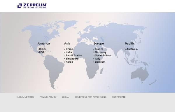 Vorschau von www.zeppelin-systems.com, Zeppelin Reimelt GmbH