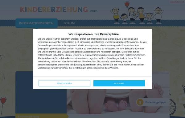 Vorschau von www.kindererziehung.com, Kindererziehung