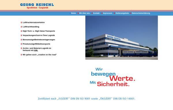 Vorschau von www.georg-reischl.de, Georg Reischl Spedition GmbH
