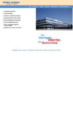 Vorschau der mobilen Webseite www.georg-reischl.de, Georg Reischl Spedition GmbH