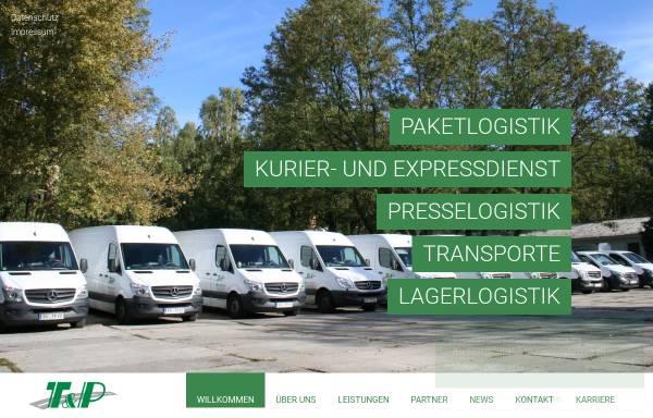 Vorschau von tp-frankfurtoder.de, Thews & Partner OHG und T & P Transport-Logistik-Service GmbH
