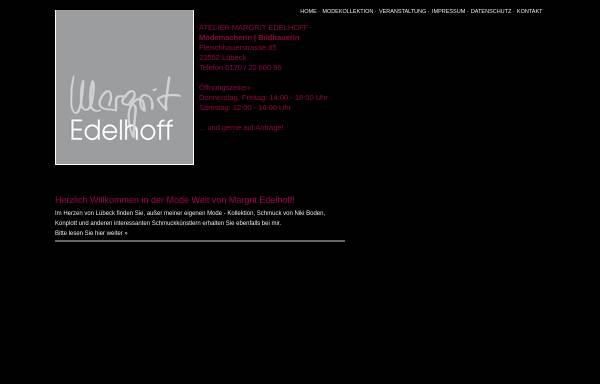Vorschau von www.atelier-edelhoff.de, Mode Atelier Margrit Edelhoff