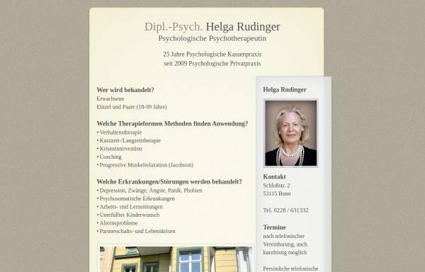 Vorschau von www.helga-rudinger.de, Dipl.-Psych. Helga Rudinger