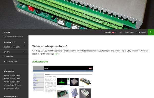 Vorschau von www.burger-web.com, Gerhard Burger