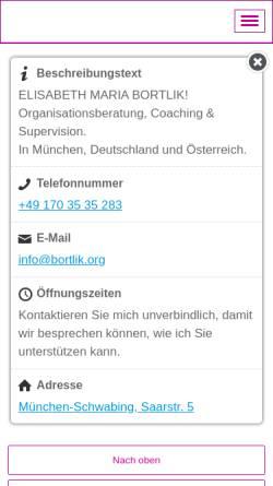 Vorschau der mobilen Webseite coaching-supervision-muenchen.de, CSM Coaching-Supervision München