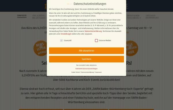 Vorschau von www.ilzhoefers.de, Event-Kochschule Ilzhöfers
