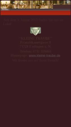 Vorschau der mobilen Webseite www.marktplatzbesen.de, Marktplatzbesen