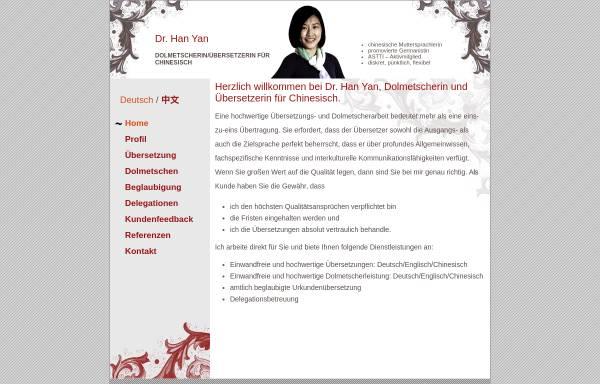 Vorschau von www.chinesisch-dolmetscher.ch, Chinesisch Dolmetscher