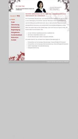Vorschau der mobilen Webseite www.chinesisch-dolmetscher.ch, Chinesisch Dolmetscher
