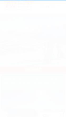 Vorschau der mobilen Webseite www.alpineaction.ch, Schweizer Bergsportschule in Flims, Graubünden