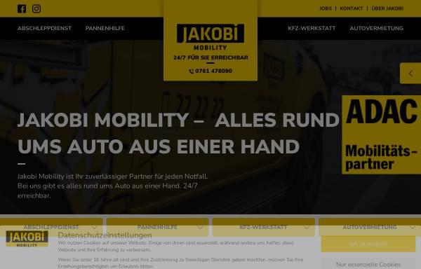 Vorschau von www.jakobi-mobility.de, Jakobi Autovermietung GmbH