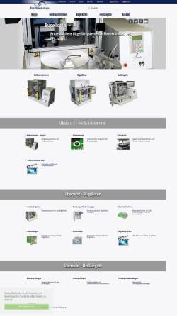 Vorschau der mobilen Webseite www.hartmann.gs, Hartmann Feinwerkbau GmbH