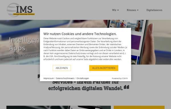 Vorschau von www.ims.de, IMS Internet Marketing Services GbR