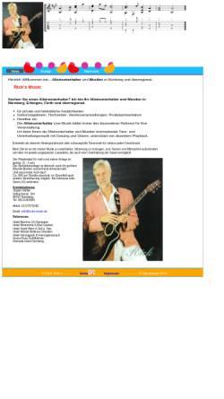 Vorschau der mobilen Webseite www.ricks-music.de, Rick's Musik