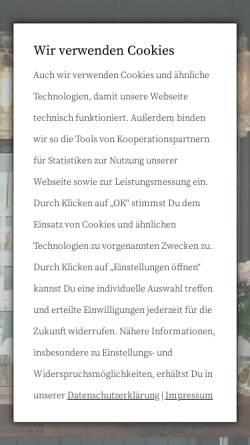 Vorschau der mobilen Webseite www.trendpoolschmuck.de, Trendpool Schmuck GmbH