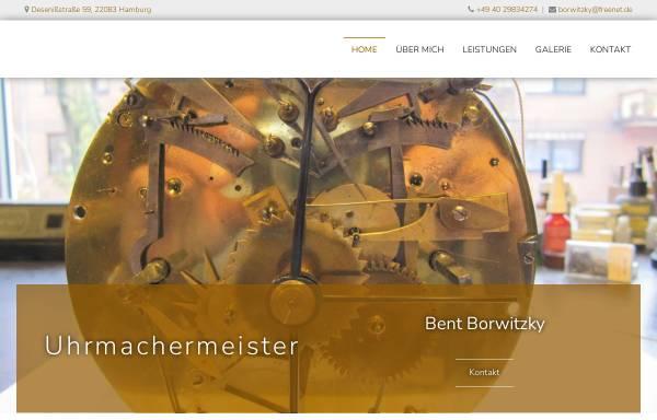 Vorschau von www.grossuhrwerkstatt.de, Bent Borwitzky