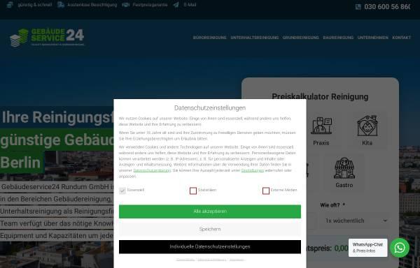 Vorschau von www.gebaeudereinigungberlin.net, Gebäudereinigung Berlin
