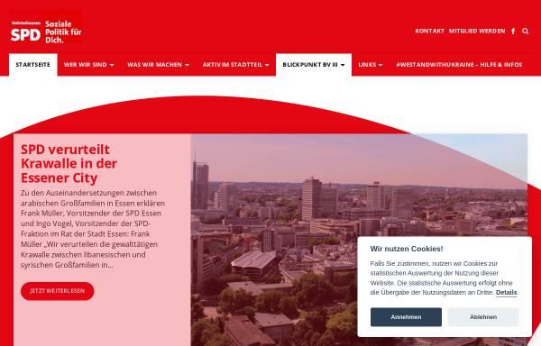 Vorschau von spd-holsterhausen.de, SPD Ortsverein Rüttenscheid