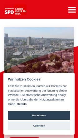 Vorschau der mobilen Webseite spd-holsterhausen.de, SPD Ortsverein Rüttenscheid
