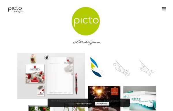Vorschau von www.pict-o.de, Designbuero picto - Ilka Riedler-Zimmermann