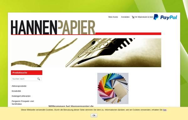 Vorschau von www.kuvertshop.net, Hannen Papier e.K.