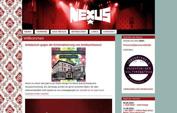 Vorschau von www.dasnexus.de, Nexus - Verein zur Förderung unabhängiger Kultur e.V.