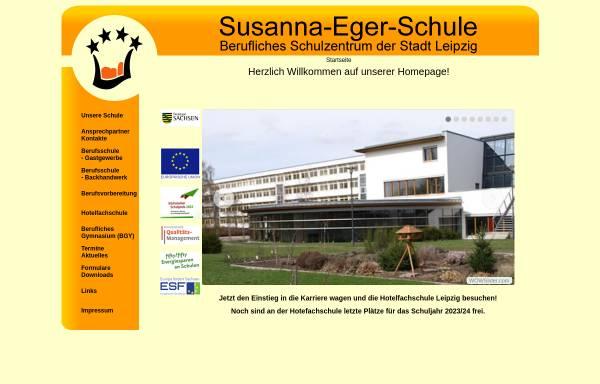 Vorschau von www.hotelfachschule-leipzig.de, Hotelfachschule Leipzig - Susanna Eger Schule