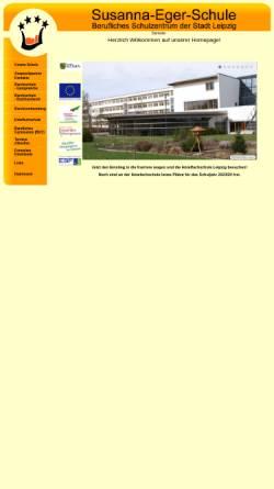 Vorschau der mobilen Webseite www.hotelfachschule-leipzig.de, Hotelfachschule Leipzig - Susanna Eger Schule