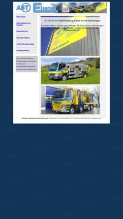 Vorschau der mobilen Webseite www.elsenerkanal.ch, Elsener Kanalrohr-Technik GmbH