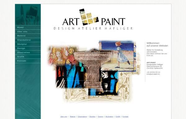 Vorschau von www.art-paint.ch, ART-PAINT Design Atelier Häfliger