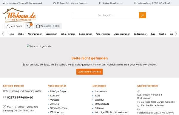 Vorschau von www.wohnen.de, Betten - Alles zum Thema Bett und Betten bei Wohnen.de