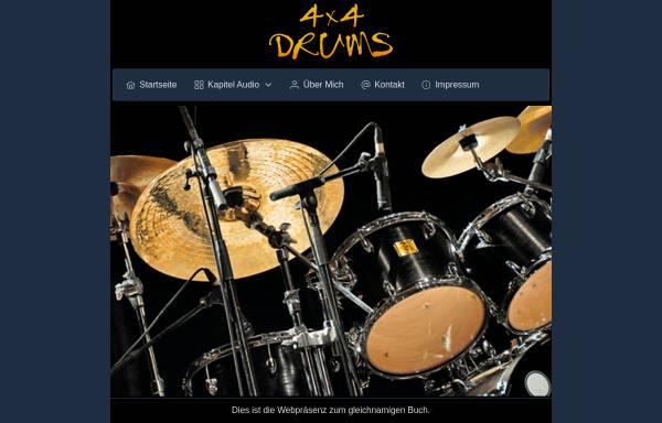 Vorschau von www.4x4drums.de, Neumann, Paul, Lehrbuch 4x4 Drums