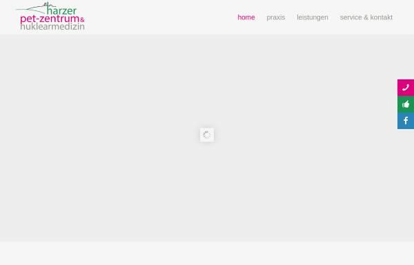 Vorschau von www.nuklearmedizin-gs.de, Nuklearmedizinische Praxis Dres. Heinken und Straube