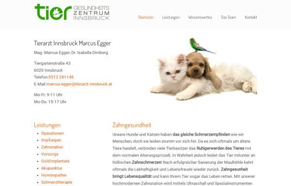 Vorschau von www.tierarzt-innsbruck.at, Tier Gesundheitszentrum