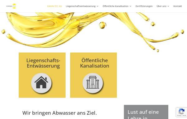 Vorschau von www.krtag.ch, KRT Kanalsanierungstechnik AG